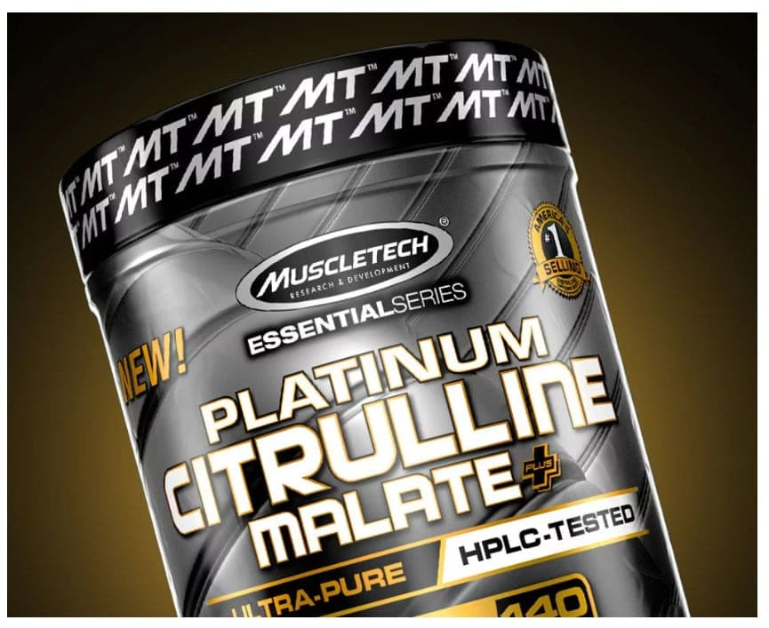 MuscleTech - Platinum Citrulline Malate Plus (140 lần dùng) - 1 1 1