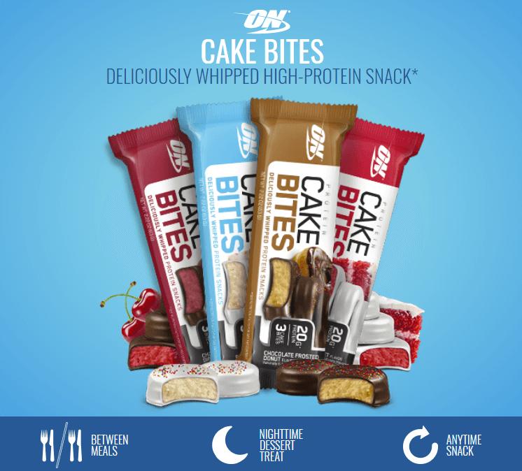 Optimum Nutrition - Protein Cake Bites - 1 2 1