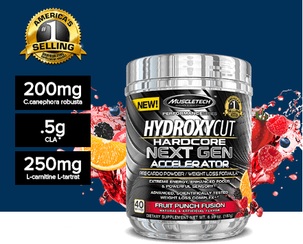 MuscleTech - Hydroxycut Hardcore Next Gen Accelerator (40 lần dùng) - 151 image