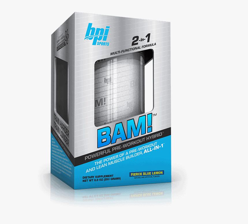 BPI Sports - BAM (25 lần dùng) - 154 1540284 bam bpi pre workout hd png download