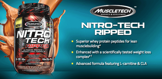 MuscleTech - Nitro-Tech Ripped (4 Lbs) - 1633386