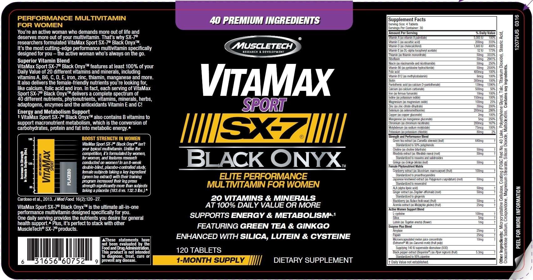 MuscleTech - VitaMax Sport SX-7 Black Onyx For Women (120 viên) - 3z 1703x894 1