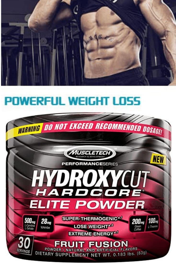 MuscleTech - Hydroxycut Hardcore Elite Powder (30 lần dùng) - 4f4d8ee025d5ab13378e64af37298dcc