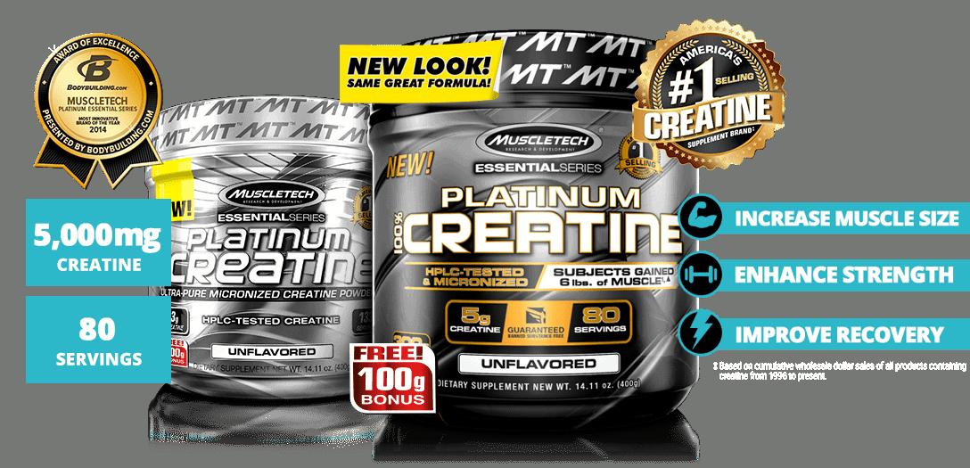 MuscleTech - Platinum 100% Creatine (80 lần dùng) - 50ff1417f94c23727fb9e2c25b532b8f