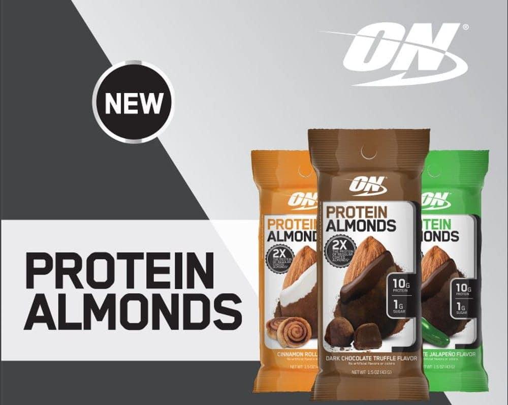 Optimum Nutrition - Protein Almonds - almonds