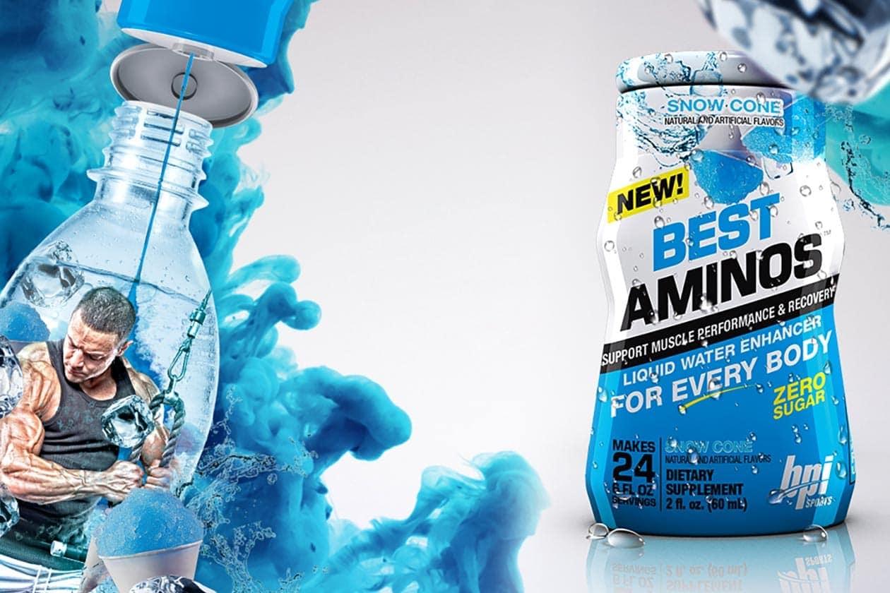 BPI Sports - Best Aminos Liquid Water Enhancer (60 ml) - bpi water enhancer