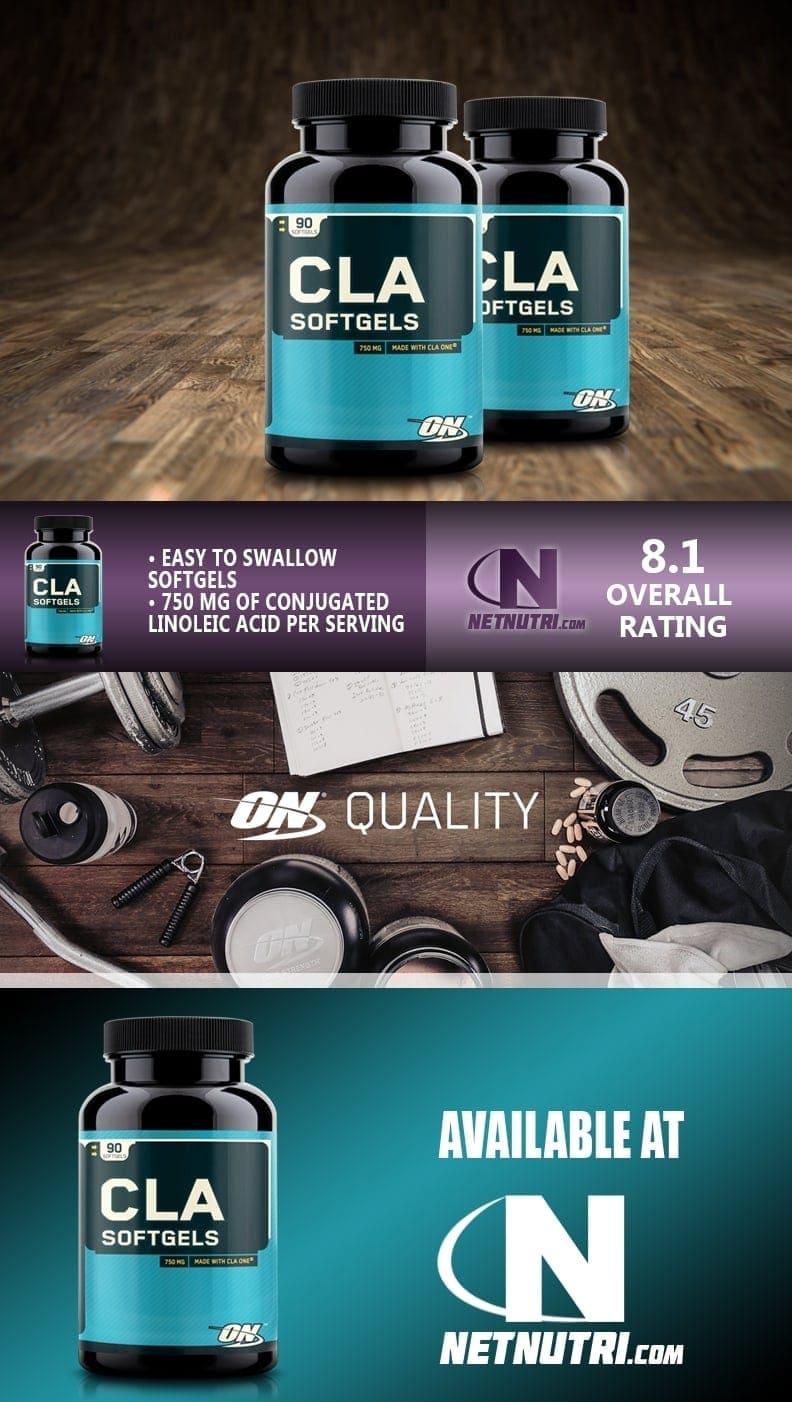 Optimum Nutrition - CLA (90 viên) - cla description 1