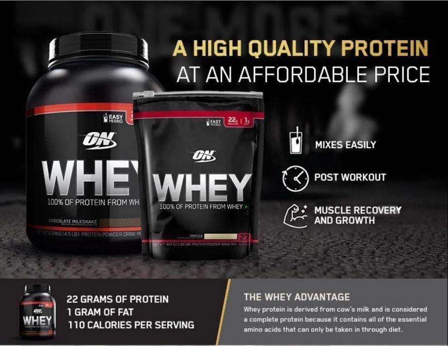 Optimum Nutrition - Whey (4.51 Lbs) - gainer4 1