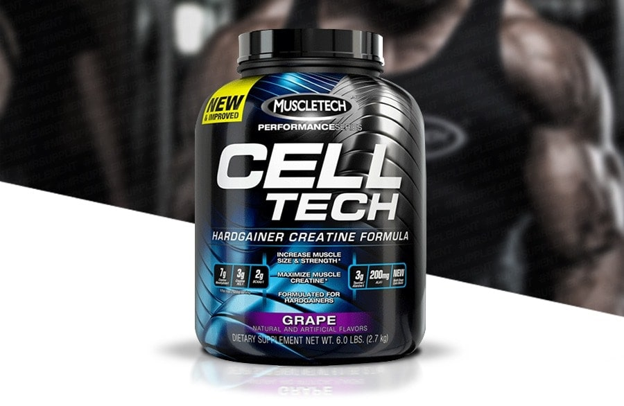 MuscleTech - Cell-Tech (3 Lbs) - muscletech celltechproduct page