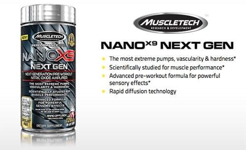 MuscleTech - naNOX9 Next Gen (120 viên) - muscletech nanox9 next gen 2