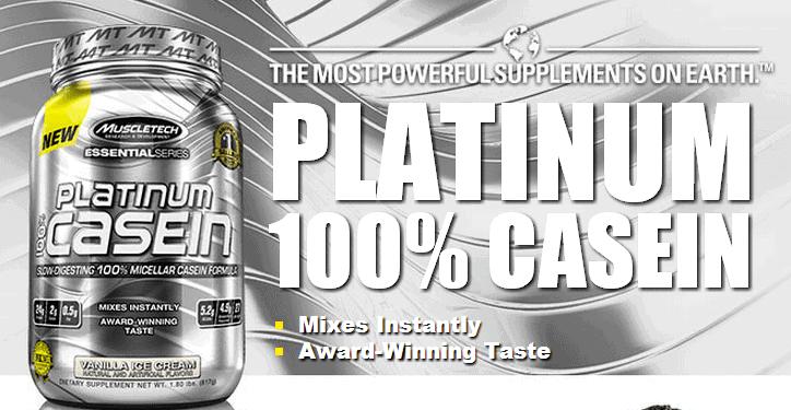 MuscleTech - Platinum 100% Casein (1.8 Lbs) - muscletech platinum 100 casein 18 lbs 1