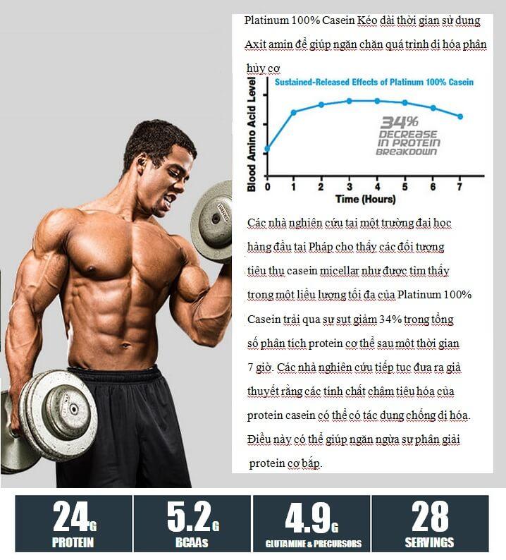 MuscleTech - Platinum 100% Casein (1.8 Lbs) - muscletech platinum 100 casein 18 lbs 3