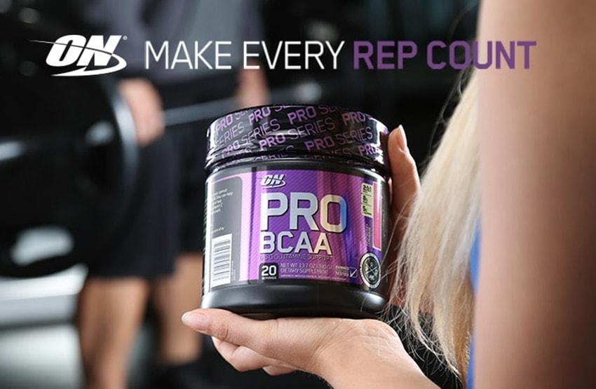 Optimum Nutrition - Pro BCAA (20 lần dùng) - optimum nutrition pro bcaa banner