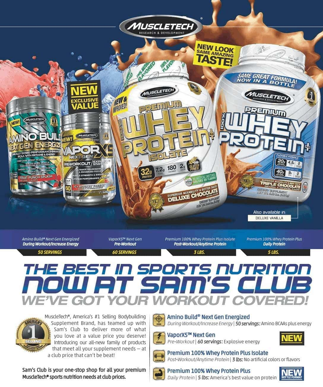 MuscleTech - Premium 100% Whey Protein + Isolate (3 Lbs) - page 65