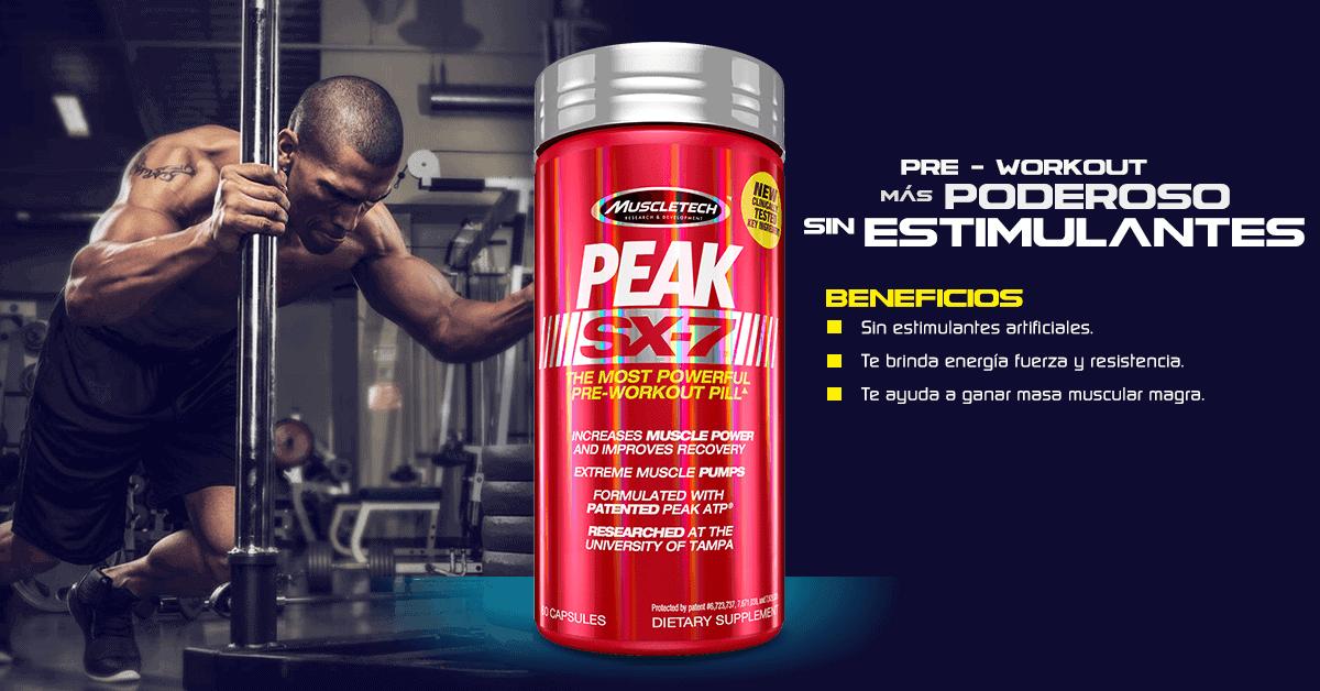 MuscleTech - Peak SX-7 (60 viên) - peak
