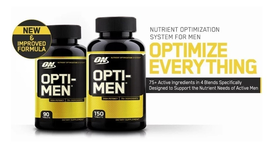 Optimum Nutrition - Opti-Men Multivitamin (150 viên) - untitled 2