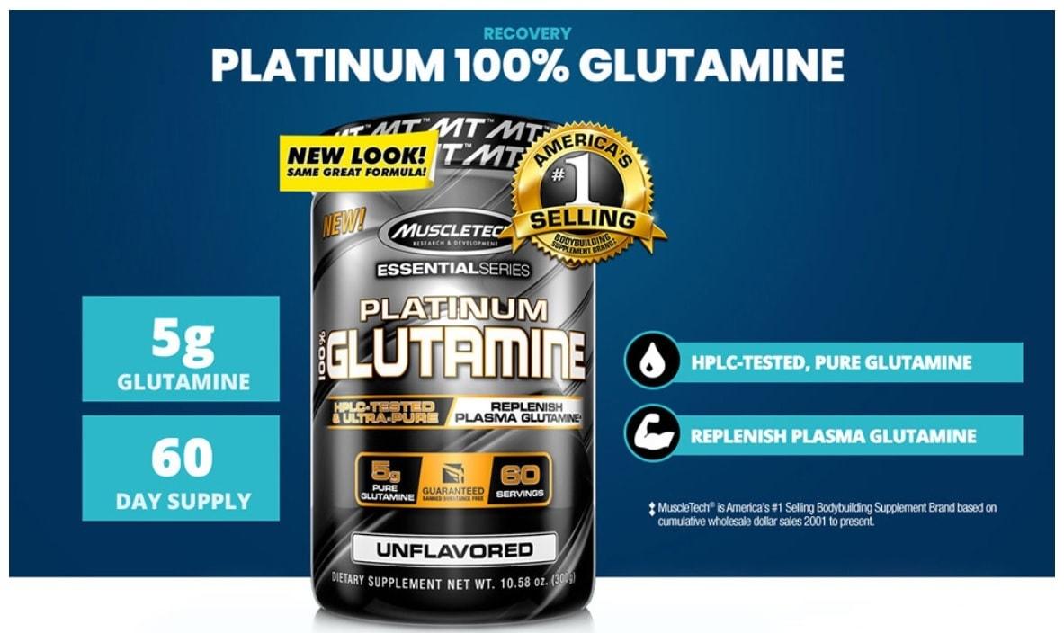 MuscleTech - Platinum 100% Glutamine (60 lần dùng) - untitled