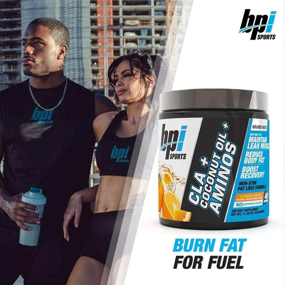 BPI Sports - CLA + Coconut Oil + Aminos (40 lần dùng) - 71gbchekgdl ac sl1000