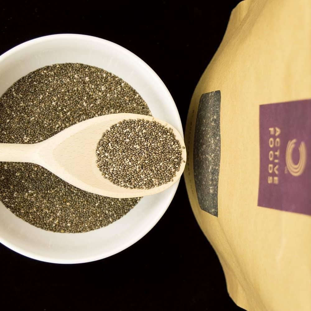 Bulk Powders - Chia Seed Powder (500g) - 71oo7 qljyl ac sl1000