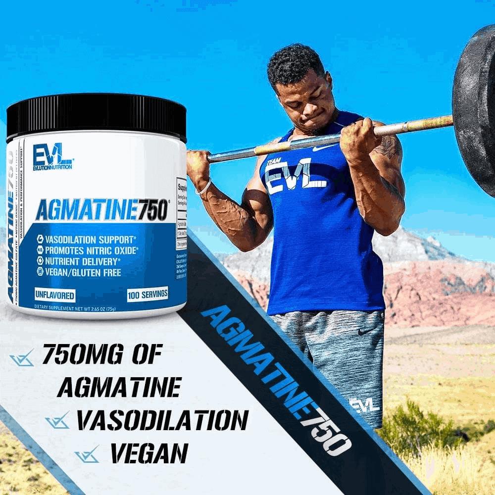 EVL - Agmatine750 (100 lần dùng) - agmatine athlete v2 100serv 2000