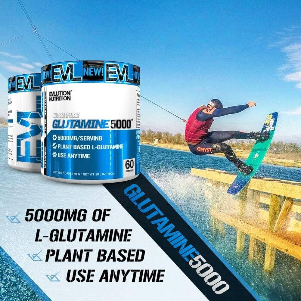 EVL - Glutamine 5000 (30 lần dùng) - evl glutamine