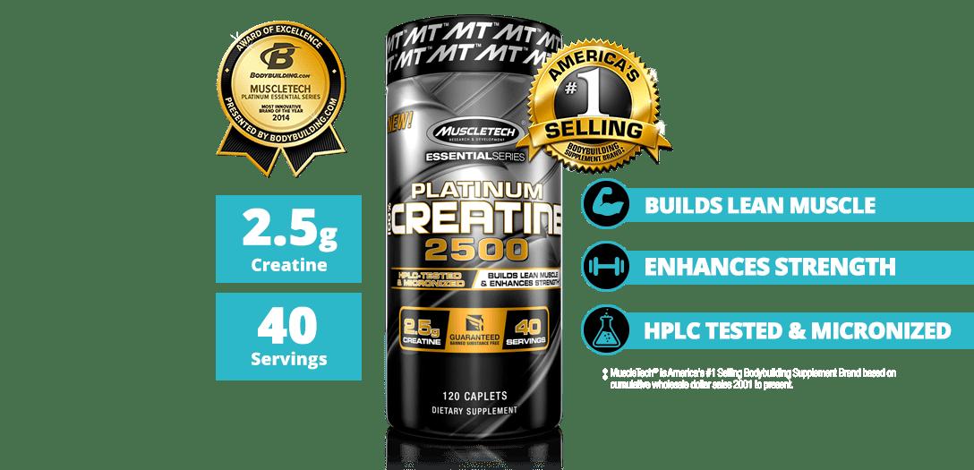 MuscleTech - Platinum 100% Creatine 2500 (120 viên) - featured desktop creatine 1
