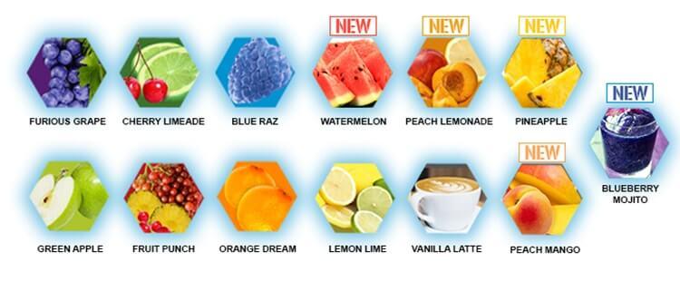 EVL - BCAA Energy (30 lần dùng) - flavors 13 min