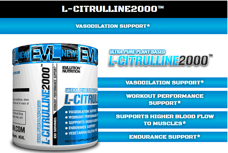 EVL - L-Citrulline (200g) - mo ta 4
