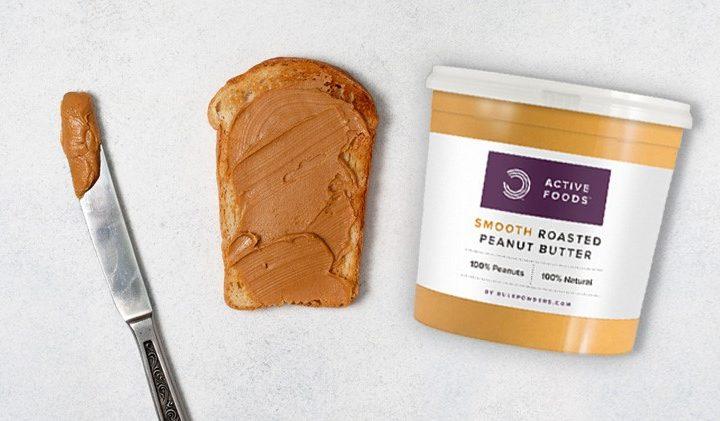 Bơ đậu phộng Bulk Powders Peanut Butter (1KG) - peanut butter 720x421 1