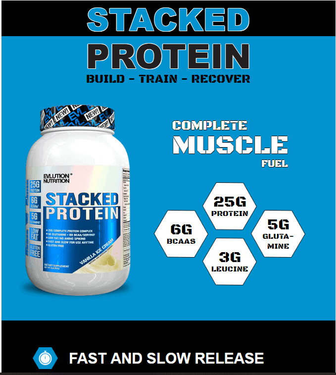 EVL - Stacked Protein (2 Lbs) - stac