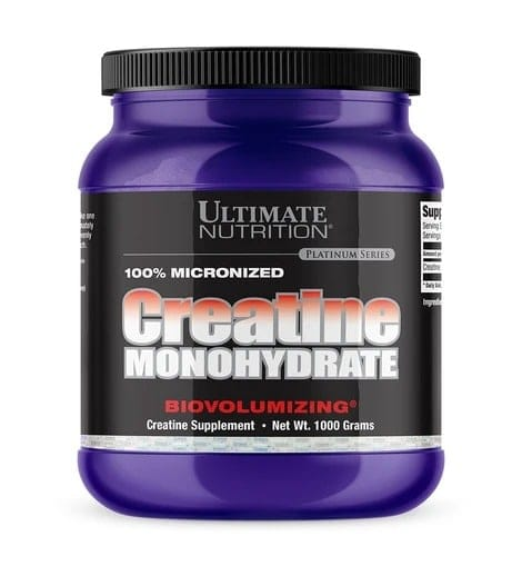 Ultimate Nutrition - Creatine Monohydrate (1 Kg) - 057 creamono1kg 940x1018 470x509 1
