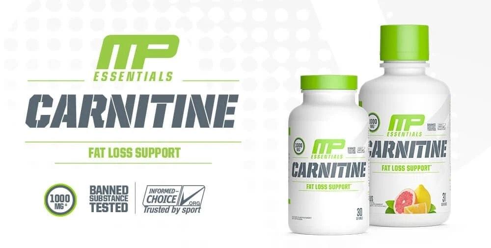 MusclePharm - Essentials Carnitine Liquid (31 lần dùng) - 2020 carnitineessentials leadban