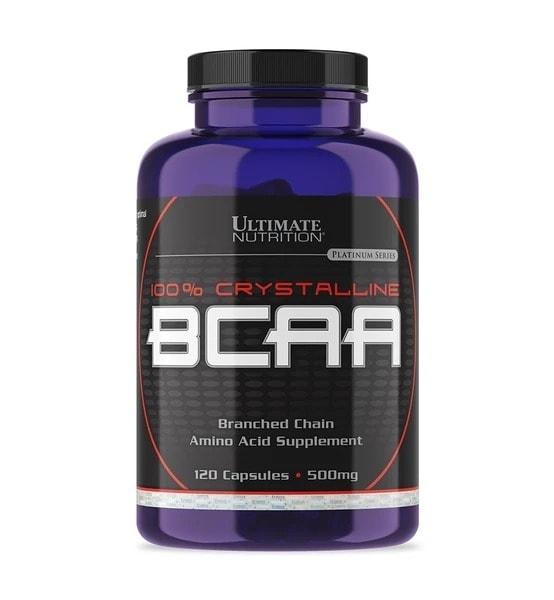 Ultimate Nutrition - 100% Crystalline BCAA (120 viên) - 405 bcaa500mg120cap 940x1018 gra