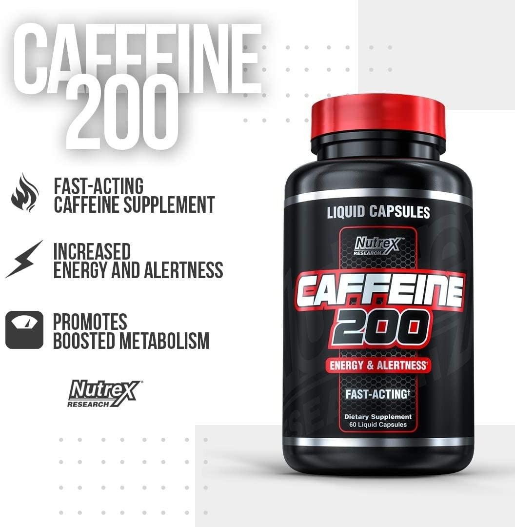 Nutrex - Caffeine 200 (60 viên) - 61adyeyy2ul ac sl1080