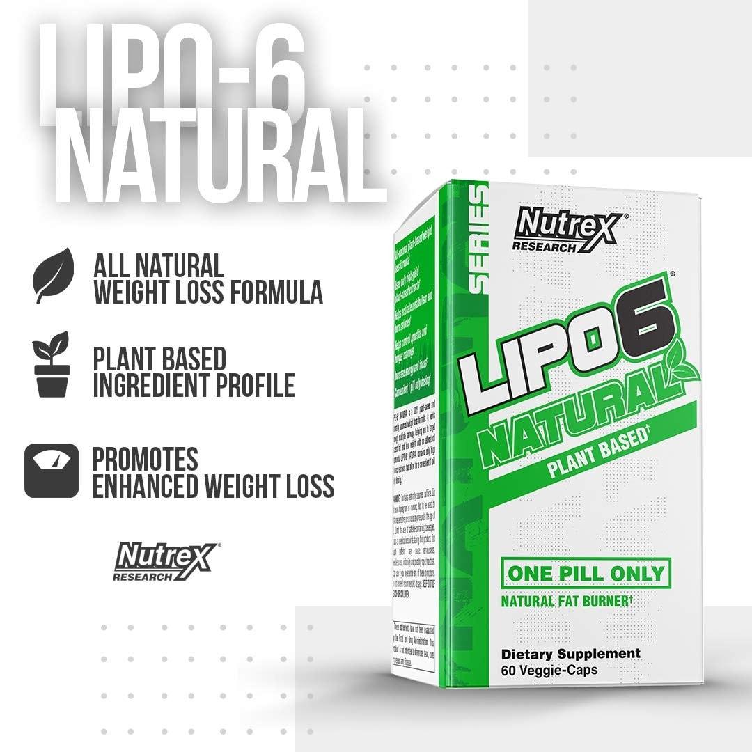 Nutrex - Lipo-6 Natural (60 viên) - 718rrmvjdcl sl1080