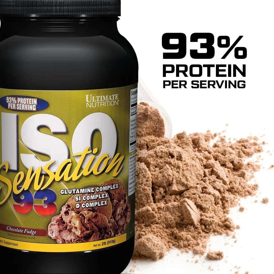 Ultimate Nutrition - Iso-Sensation 93 (2 Lbs) - 71acc6jahtl sl1080 322a07e2 449