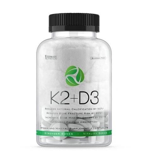Ultimate Nutrition - K2+D3 (120 viên) - 87308 k2d3120tab 940x1018 470x50 1