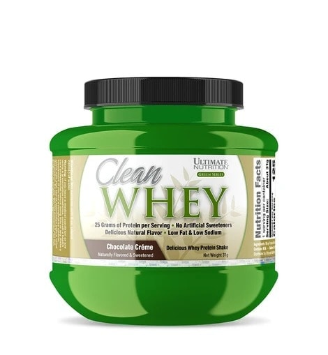 Ultimate Nutrition - Clean Whey (Sample) - 98146 cleanwhey31gchoc 940x1018 1