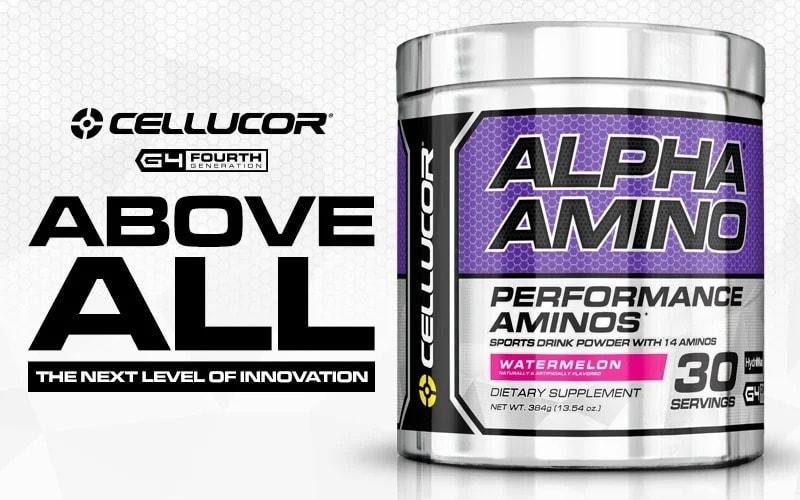 Cellucor - Alpha Amino (30 lần dùng) - aag4header
