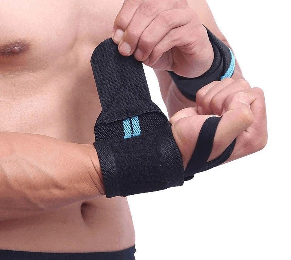 Quấn Cổ Tay Bodybuilding Wrist Wraps Chính Hãng (1 cặp) - aolikes 1pcs wrist support gym w