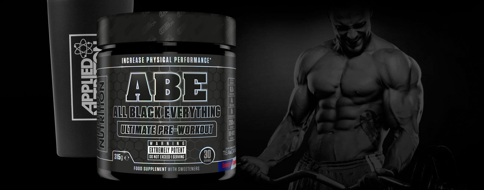 Applied Nutrition - ABE (30 lần dùng) - applied nutrition pre workout abe 30 lan dung 3