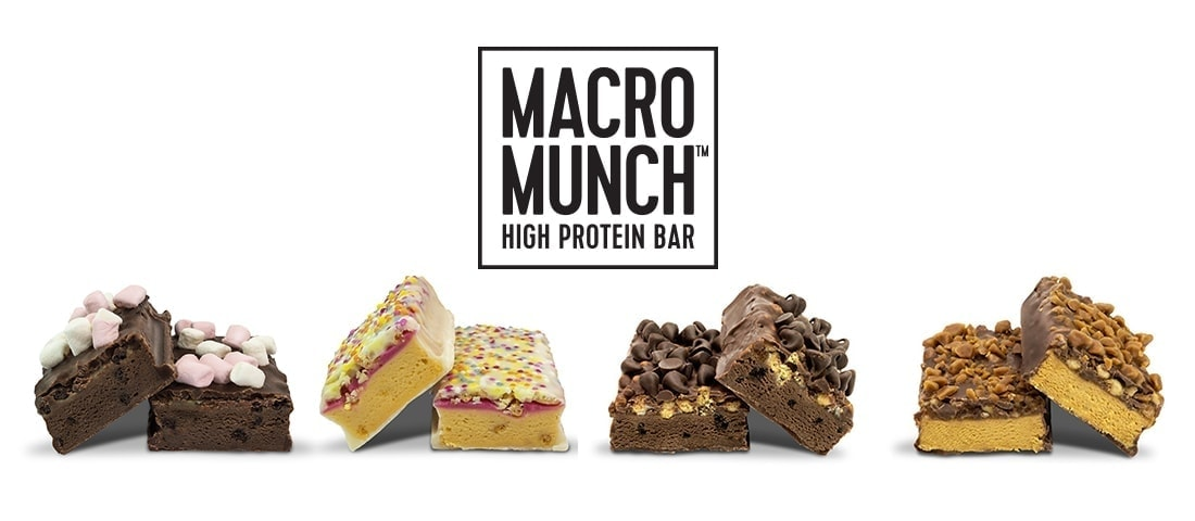 Bulk Powders - Macro Munch Protein Bar - banhprotein