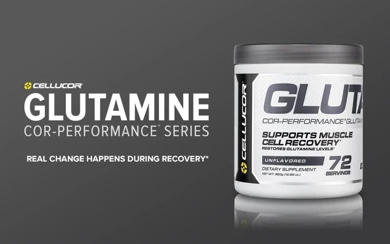 Cellucor - COR-Performance Glutamine (72 lần dùng) - cellucor muscleandstrength cor s 1