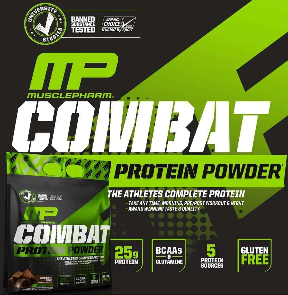 MusclePharm - Combat Powder (10 Lbs) - d