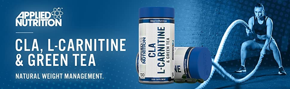 Applied Nutrition - CLA, L-Carnitine & Green Tea (100 viên) - e6d8666a 7e4f 4a1a 86a0 0cce5e60