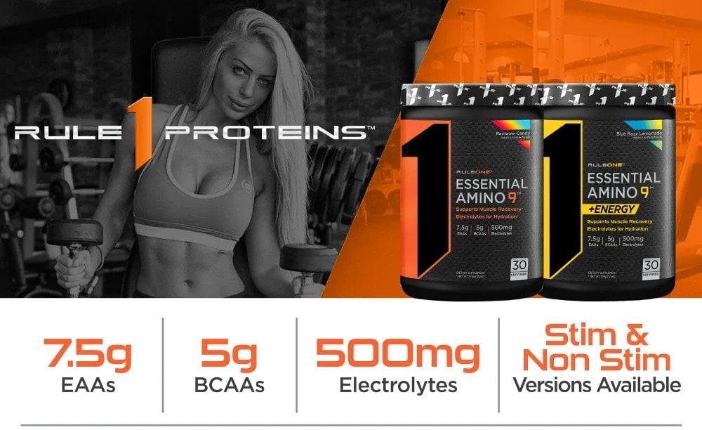 Rule 1 - R1 Essential Amino 9 + Energy (30 lần dùng) - ea9 1 1