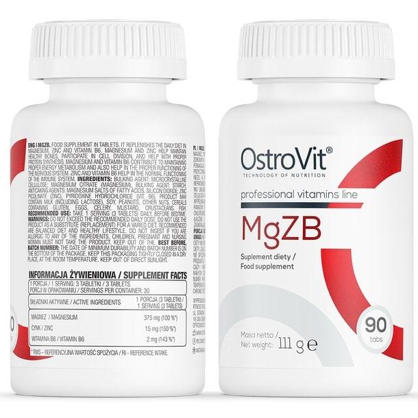 OstroVit - MgZB (90 viên) - eng pl ostrovit mgzb 90 tabs 167 1