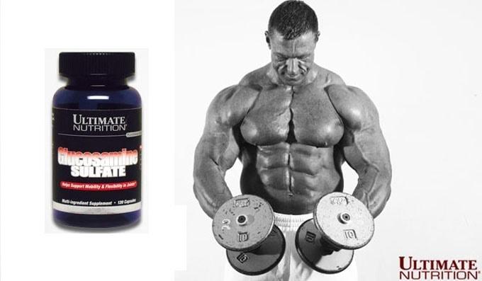 Ultimate Nutrition - Glucosamine Sulfate (120 viên) - glucosamine sulfate ultimate poster