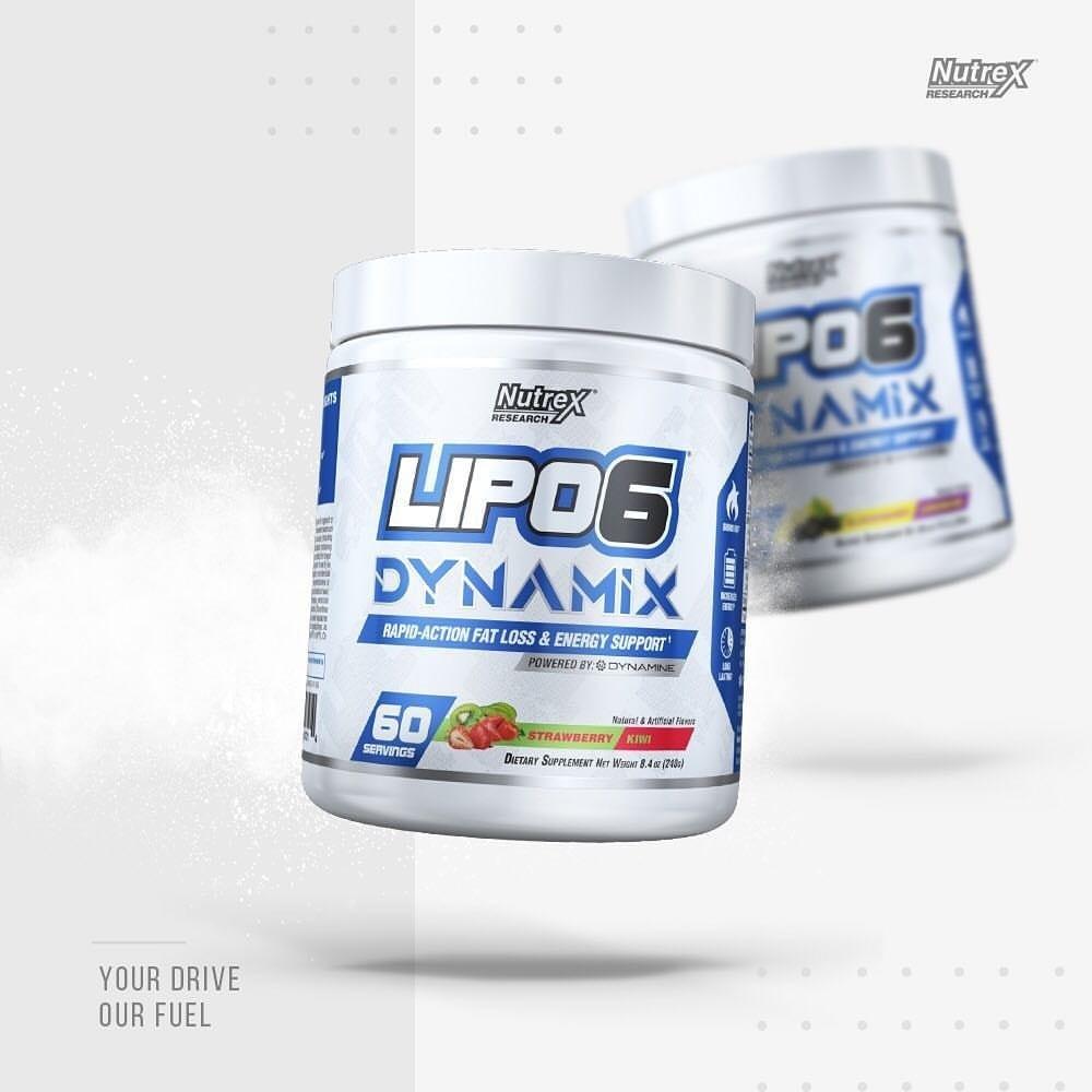 Nutrex - Lipo-6 Dynamix (60 lần dùng) - lipo dynamix 4
