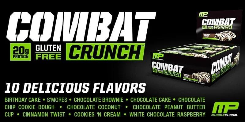 MusclePharm - Combat Crunch Bars - mp combatcrunch banner 2